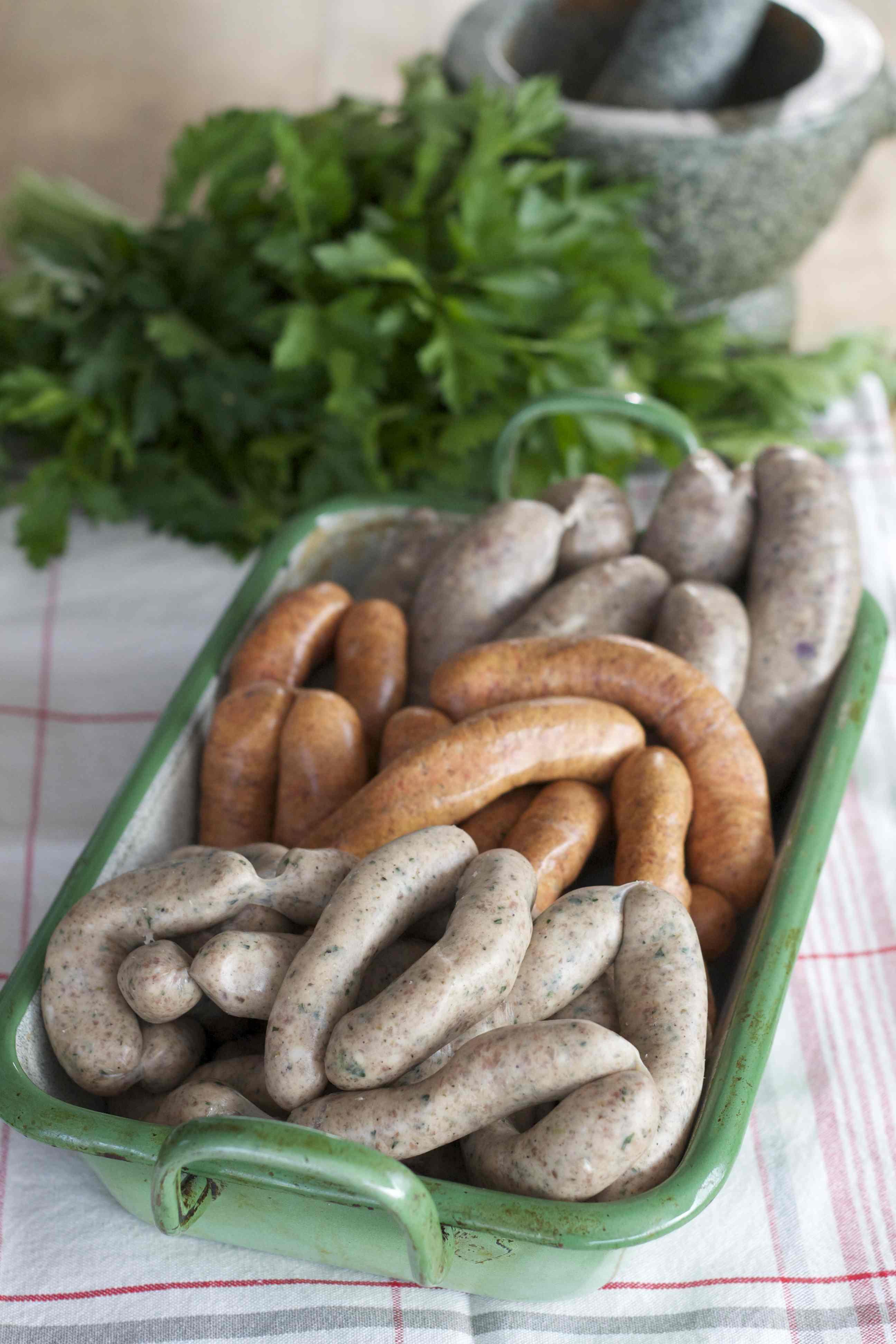 Salsiccia, Merguez & Rostbratwürste - bei mir geht es um die Wurst