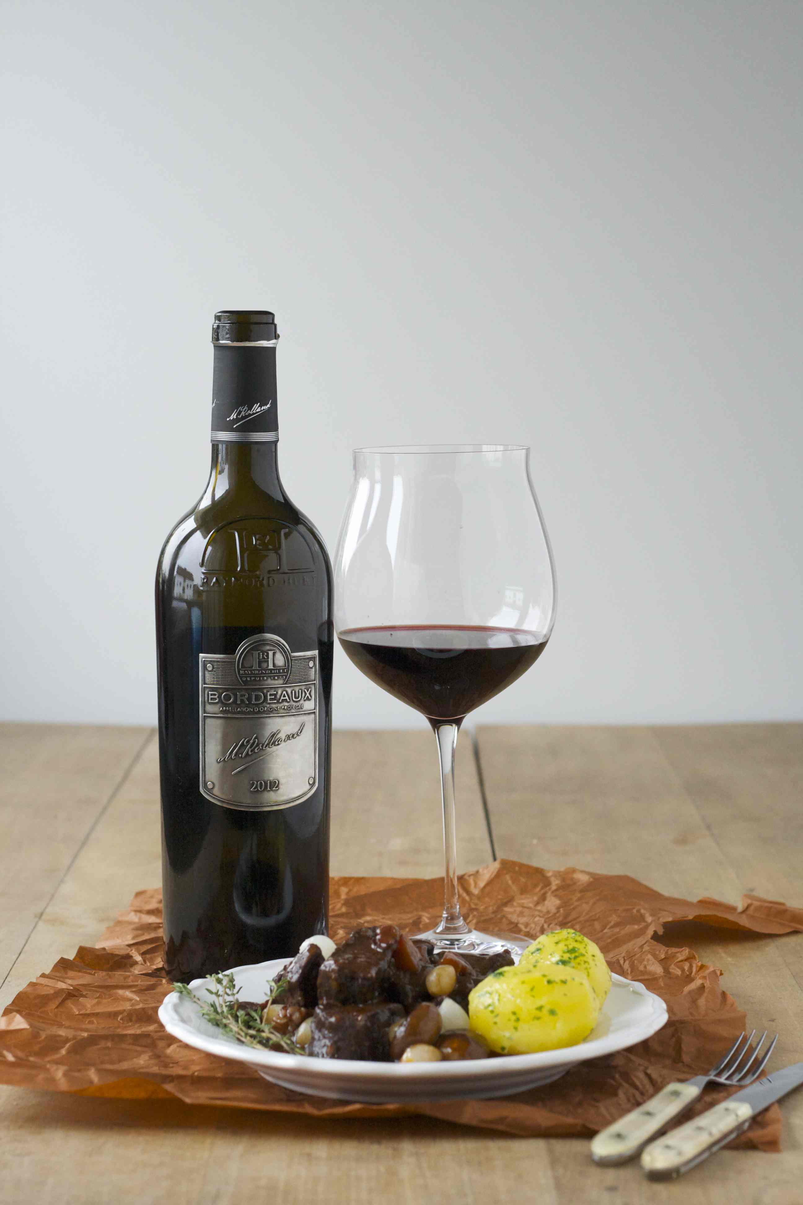 EDEKA Bordeaux trifft meine Wein(Seligkeiten) mit Boeuf Bourgignon