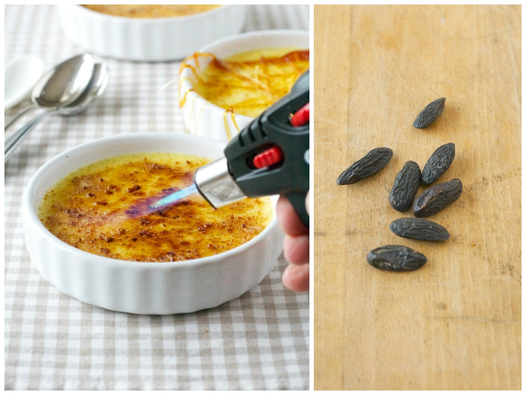 Crème Brûlée mit Tonkabohne