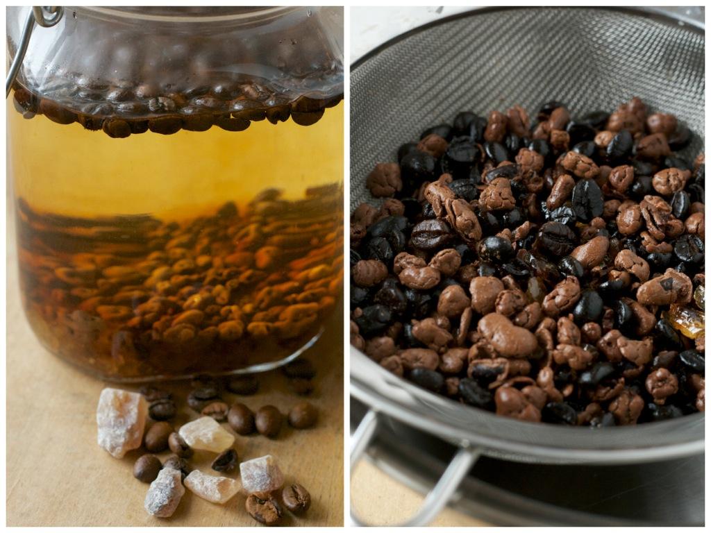 Kaffee-Schokoladen-Likör