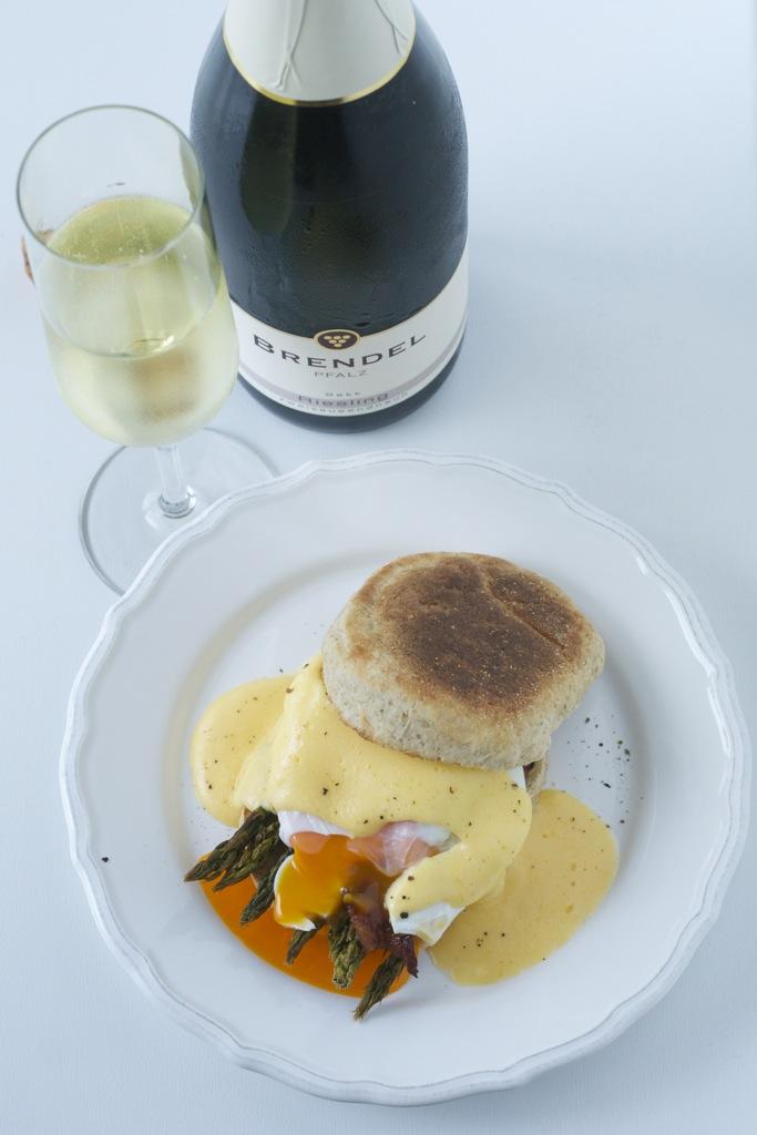 Wein(seligkeiten) Brendel | Riesling Sekt 2009 | Eggs Benedict nach meinem Gusto