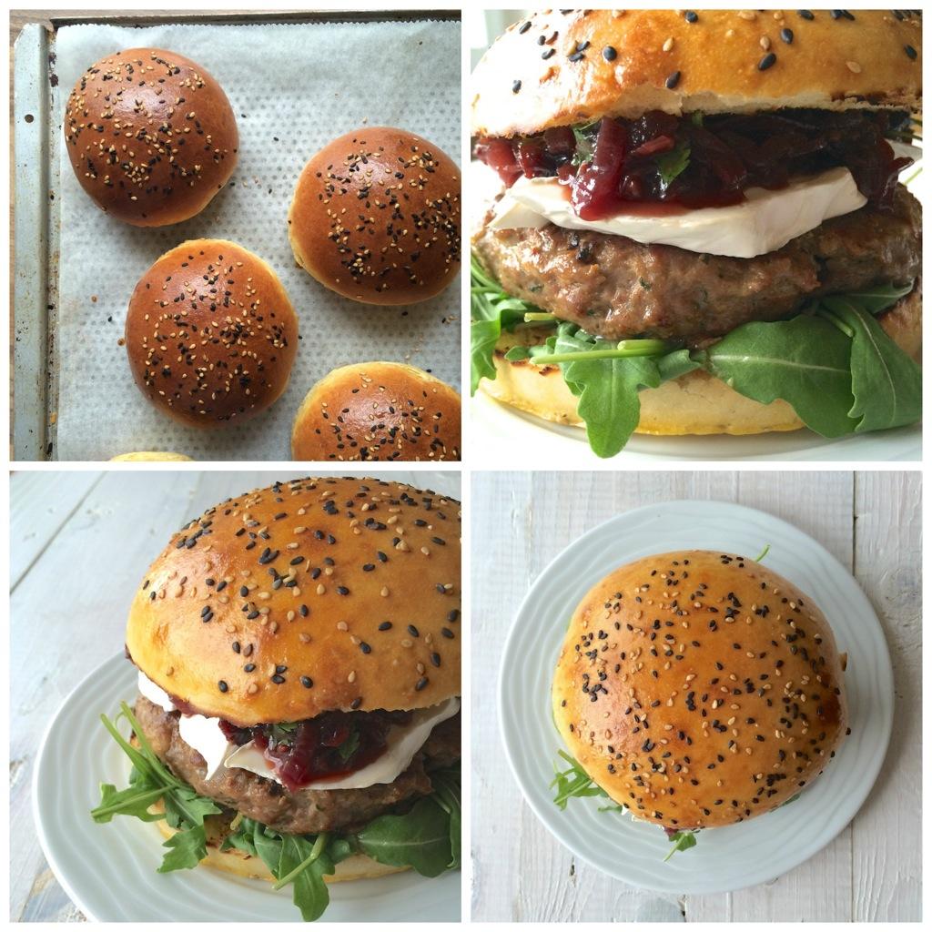 Zimtschnecken die eigentlich Burger Buns sind