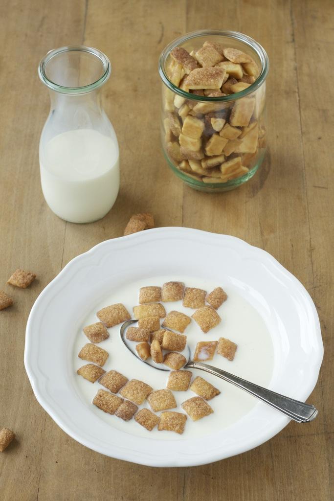 Zimt-Frühstücks-Ecken