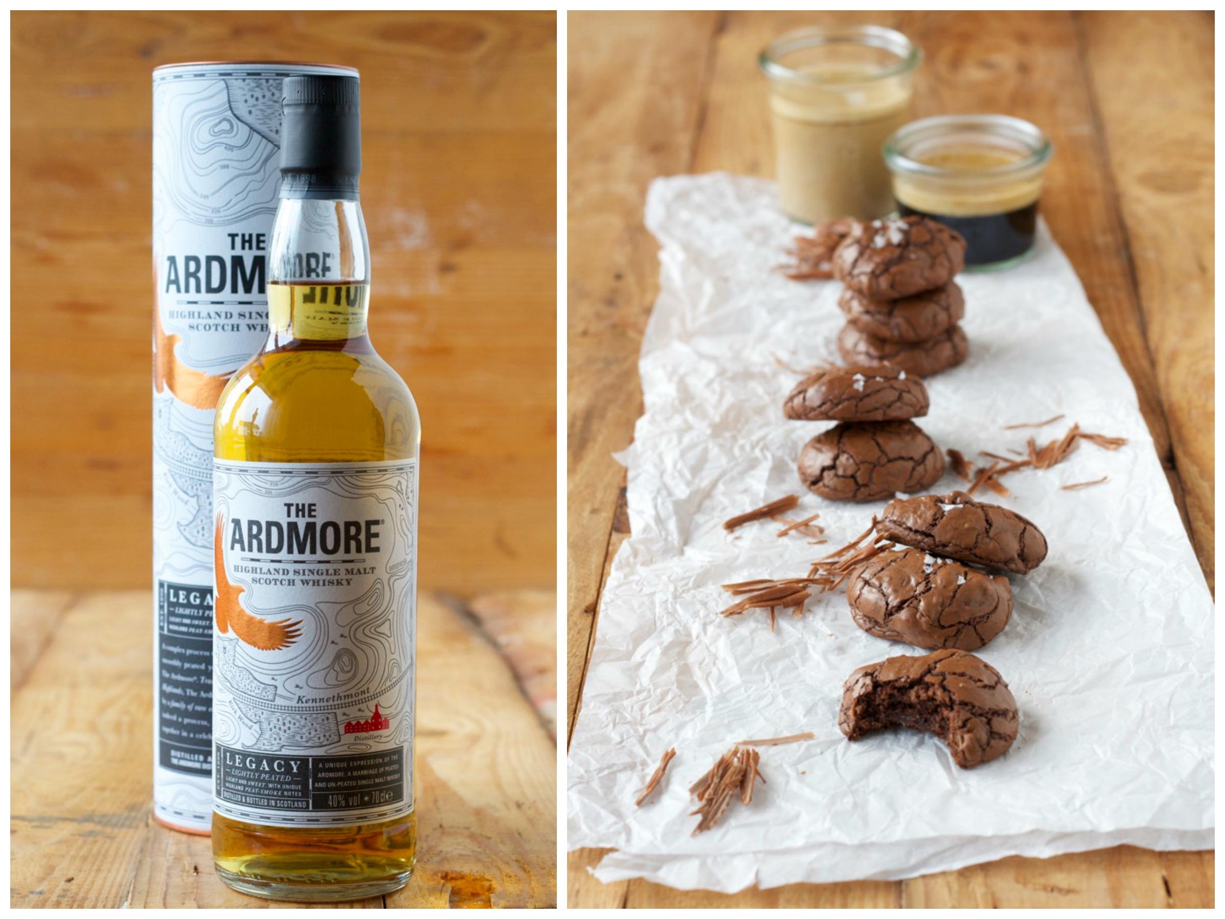 chocolate cookies und mein erstes Mal Whisky