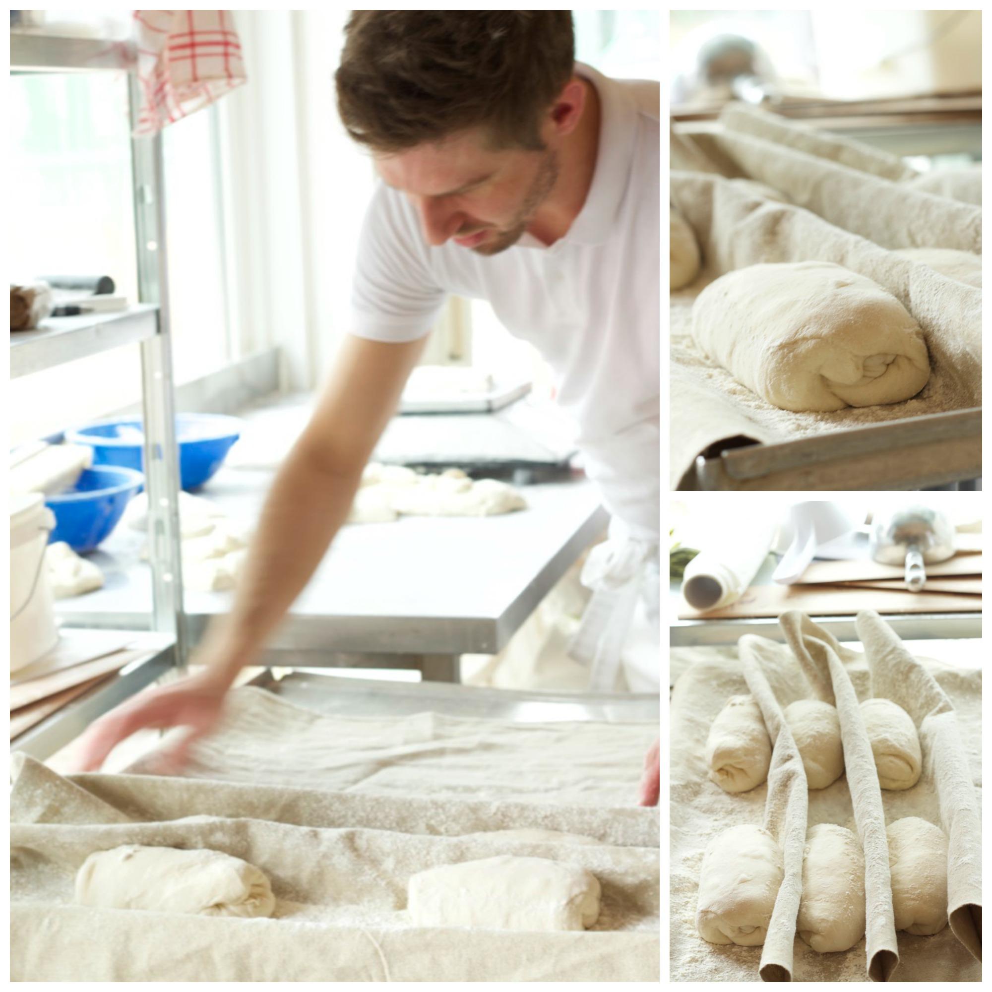 Bestes Brot vom Hobbybäcker und ein Männersandwich