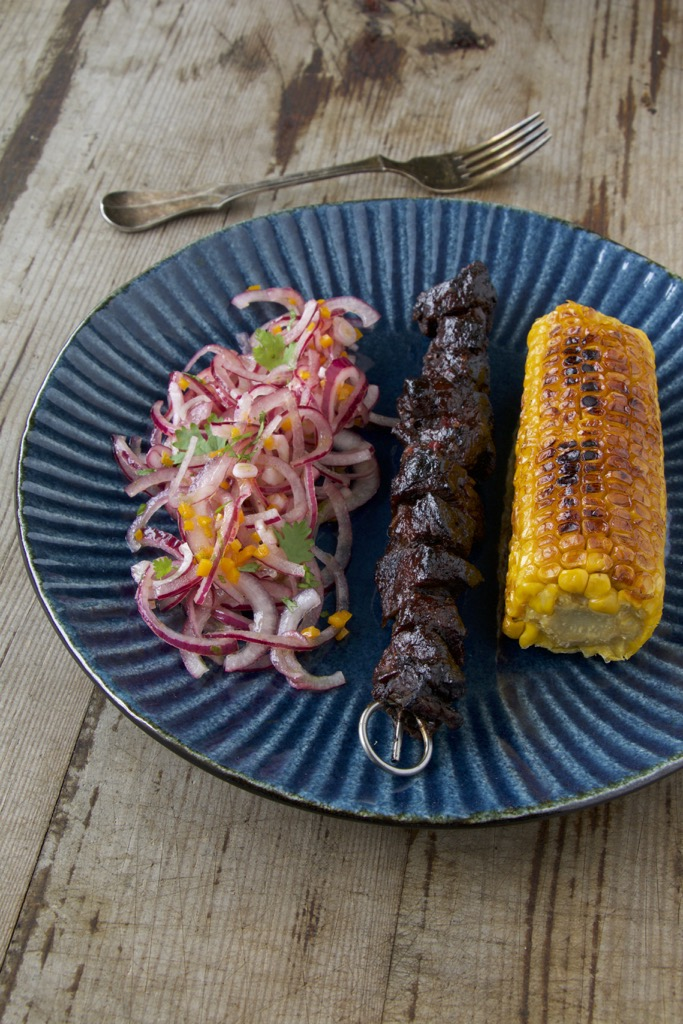 Anticuchos de Lomo – peruanische Fleischspieße