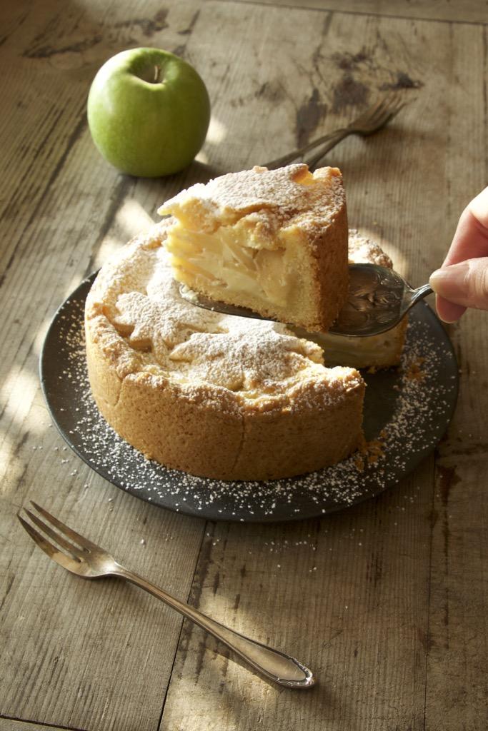 Nordfriesischer Apfelkuchen