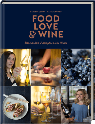 Buchtitel Food Love Wine von der Foodbloggerin Kerstin Getto