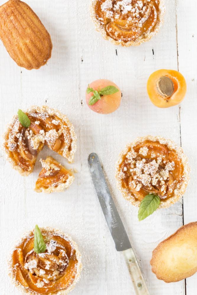 Food-Love-Wine-Kochbuch-Aprikosen-Madeleines-kuchen-küchlein