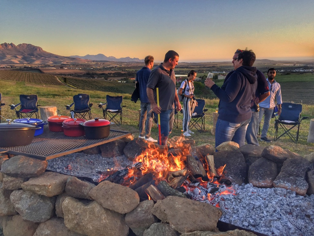Südafrika-braai-making-of