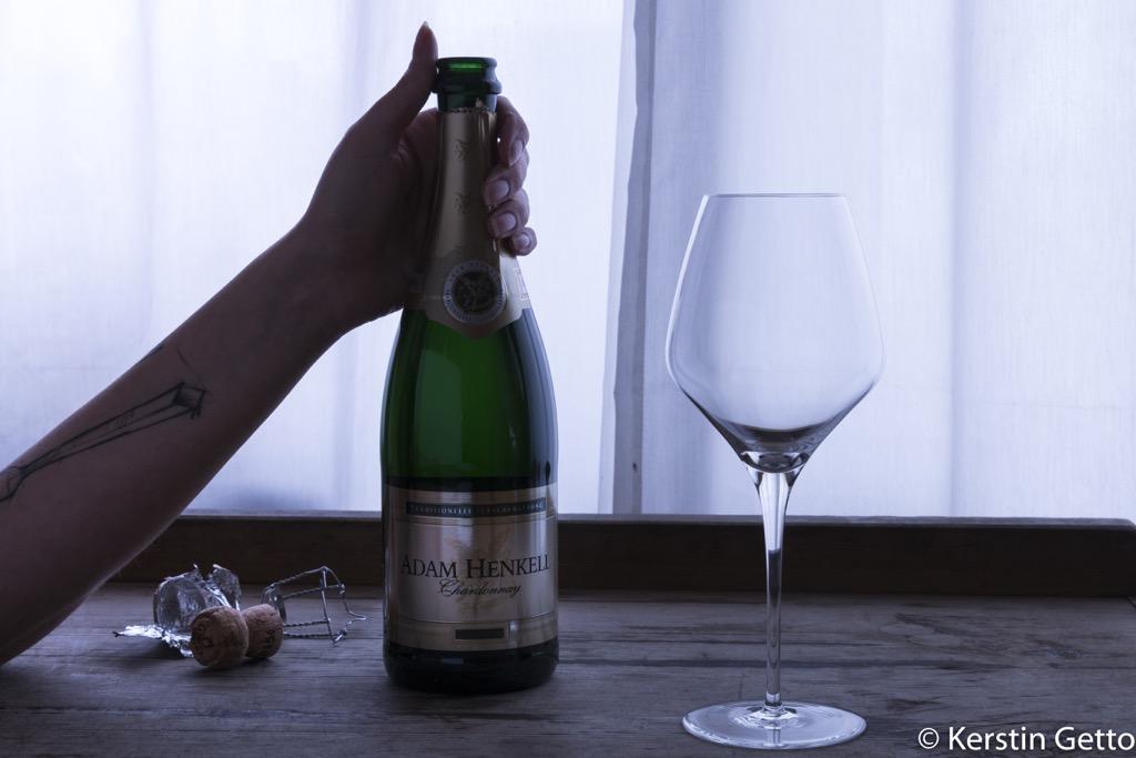Henkell-Vanille-Jakobsmuscheln-Chardonnay-Schaum-Yuzugel-Erbsen-Limetten-Panko