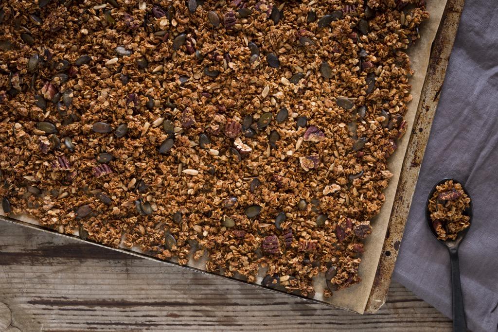 Kokos-Pekanuss-Granola