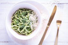 Pasta-mit-Spinat-fuer-kinder