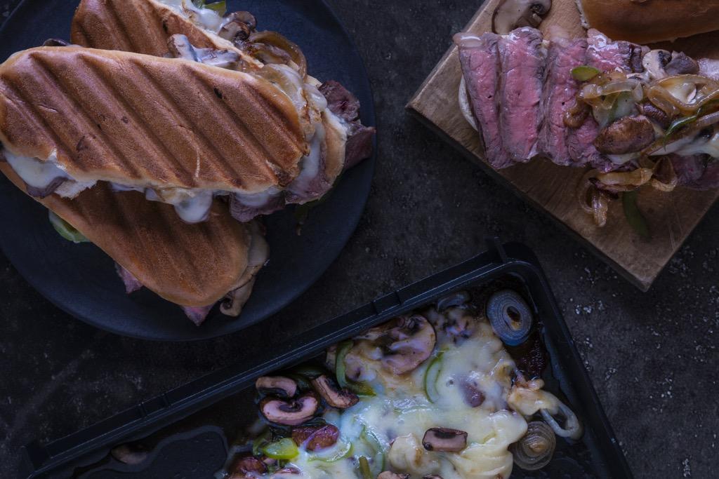 Philly-Cheese-Steak-Sandwich-anrichten