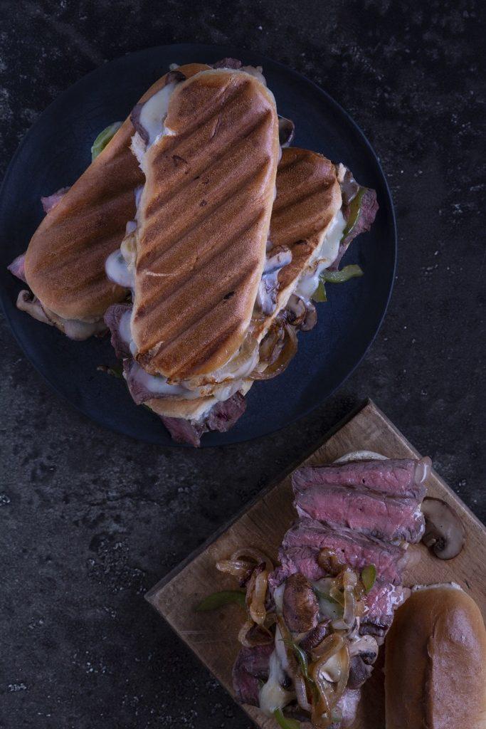 fertiges-Philly-Cheese-Steak-Sandwich